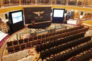 A venue for Presentation. PIFW