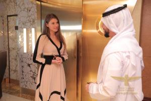 Liza Markina Burj Al Arab